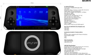 Diseño no confirmado del PSP2